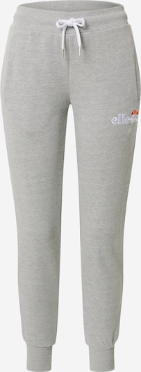 ELLESSE Pantalon de sport 'Frivola' en gris chiné / blanc, Vue avec produit