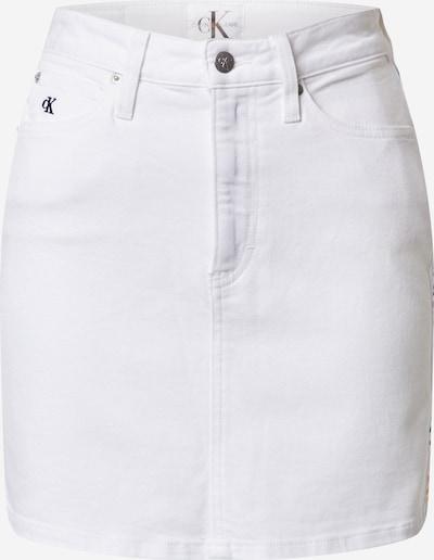 Calvin Klein Jeans Jeansrock in weiß, Produktansicht