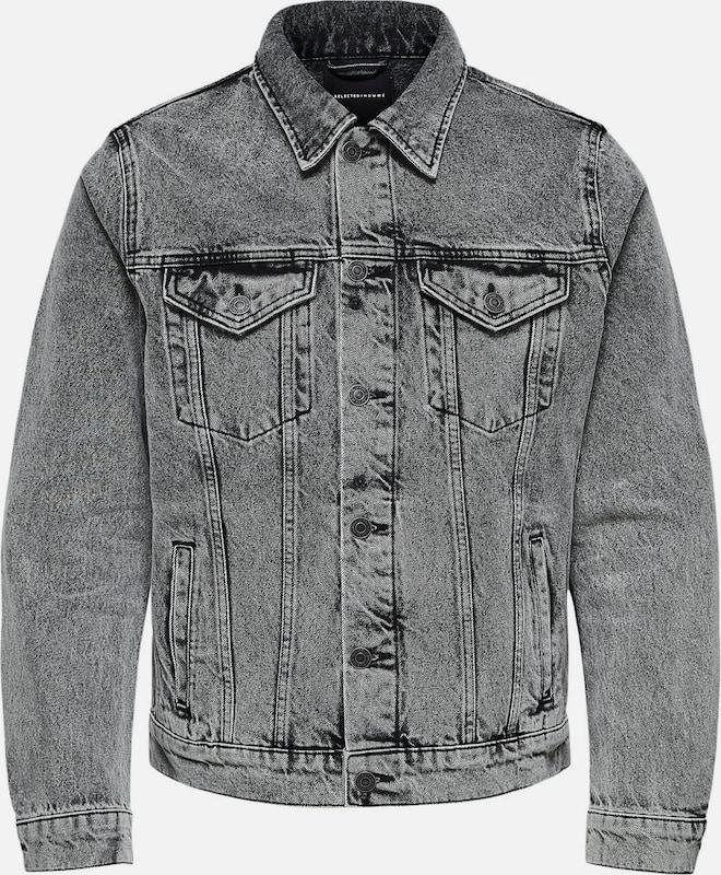SELECTED HOMME Jeansjacke in schwarzmeliert  Neue Kleidung in dieser Saison