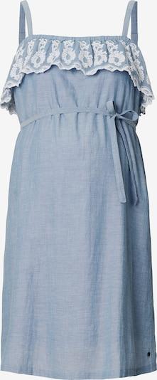Esprit Maternity Kleid in blue denim / weiß: Frontalansicht