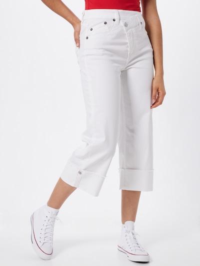 Herrlicher Jeansy 'Maze' w kolorze biały denimm: Widok z przodu