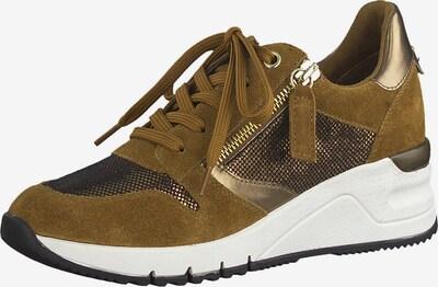 TAMARIS Sneaker in oliv: Frontalansicht