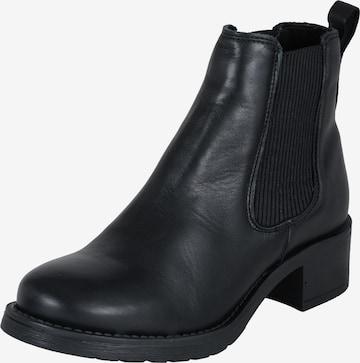 Chelsea Boots 'Christina' PAVEMENT en noir