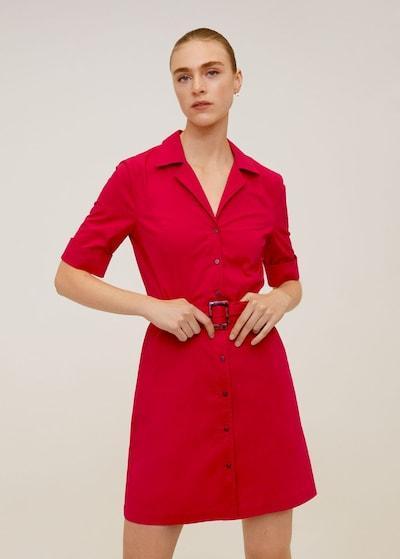 MANGO Kleid 'Mexi6-N' in rot, Modelansicht
