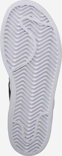 ADIDAS ORIGINALS Sneaker 'Superstar' in gold / schwarz / weiß: Ansicht von unten