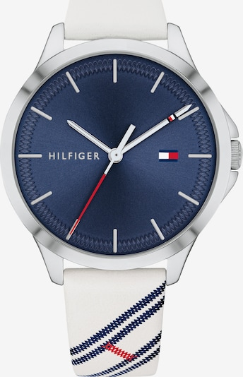 TOMMY HILFIGER Uhr 'Sport 1782089' in navy / weiß, Produktansicht