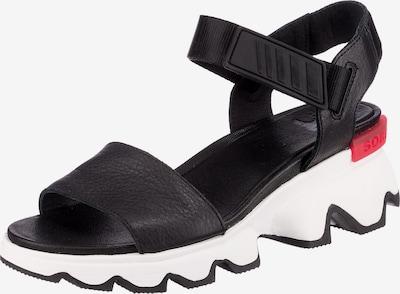 SOREL Kinetic Sandal Klassische Sandalen in schwarz / weiß, Produktansicht