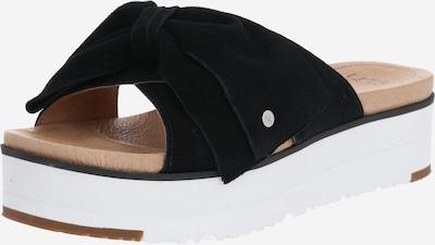 UGG Mule 'JOANIE' en noir / blanc, Vue avec produit