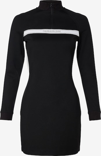 Calvin Klein Jeans Kleid in schwarz / weiß, Produktansicht