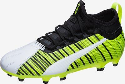PUMA Fußballschuh 'ONE 5.3 MG' in neongelb / schwarz / weiß, Produktansicht