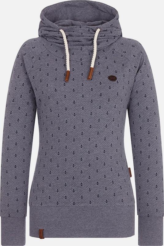 Naketano Sweatshirt 'Mandy Ankerdizzel' Ankerdizzel' Ankerdizzel' in nachtblau   taubenblau  Neue Kleidung in dieser Saison 78e102