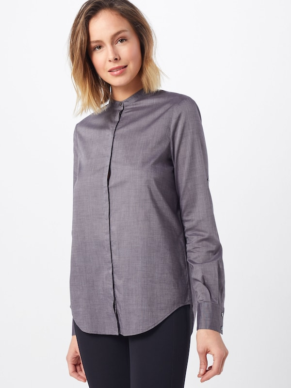BOSS Bluse 'Efelize_17' in grau: Frontalansicht