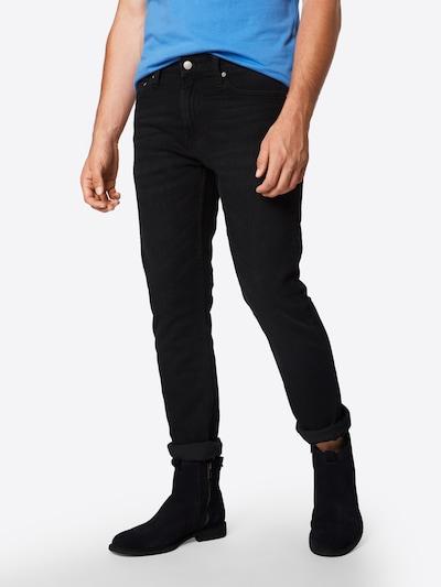Calvin Klein Jeans Džíny 'CKJ 026 SLIM' - černá džínovina: Pohled zepředu