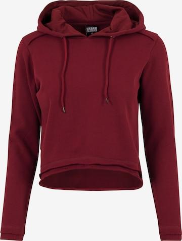 Urban Classics Sweatshirt in Rood