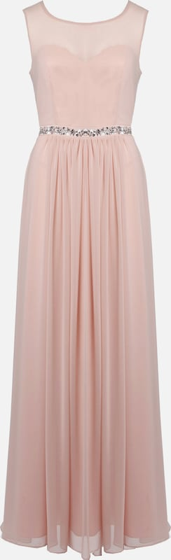 Young Couture by BARBARA SCHWARZER Kleid in rosa: Frontalansicht