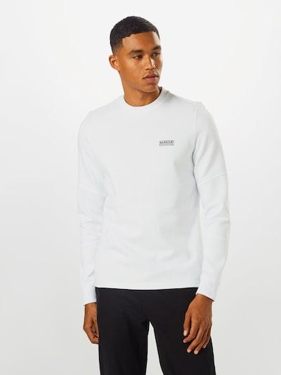 Barbour International Shirt 'B.Intl Decal' in de kleur Wit: Vooraanzicht