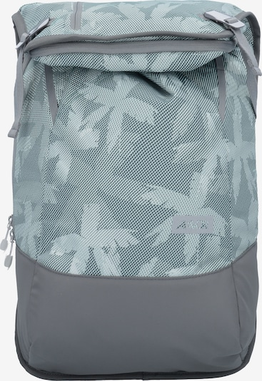 AEVOR Rucksack in dunkelgrau / mint, Produktansicht