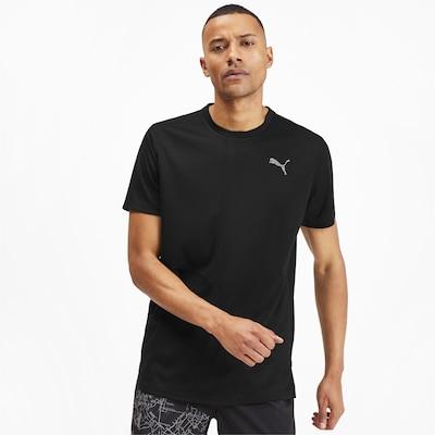 PUMA Functioneel shirt 'Ignite' in de kleur Zwart: Vooraanzicht