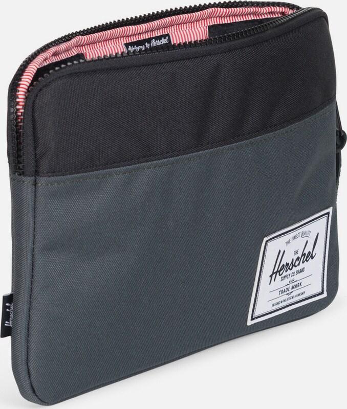 Herschel Tablet Tasche 'Anchor Sleeve, iPad Air, Dark Shadow/Black'