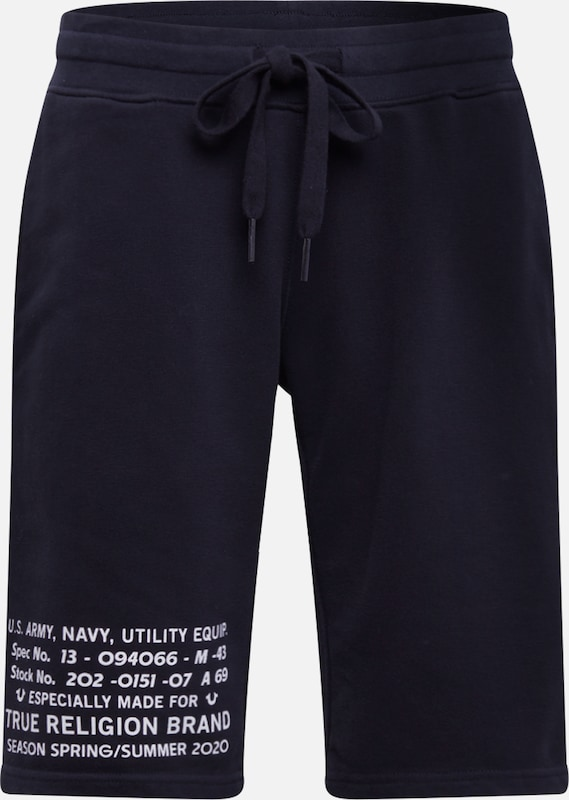 True Religion Shorts 'MILITARY' in schwarz, Produktansicht