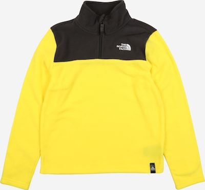 THE NORTH FACE Sport-Pullover 'Glacier' in gelb / schwarz, Produktansicht