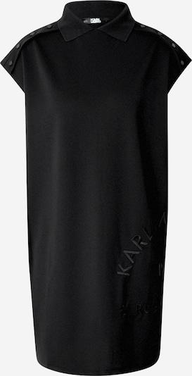 Karl Lagerfeld Robe-chemise 'Polo' en noir, Vue avec produit