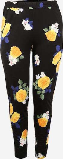 Dorothy Perkins Curve Spodnie w kolorze żółty / czarny / białym, Podgląd produktu