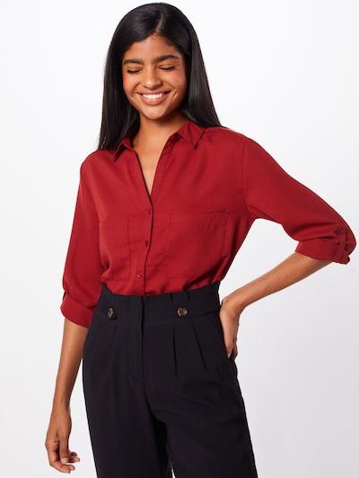 Bluză 'Marou' ABOUT YOU pe roșu ruginiu: Privire frontală