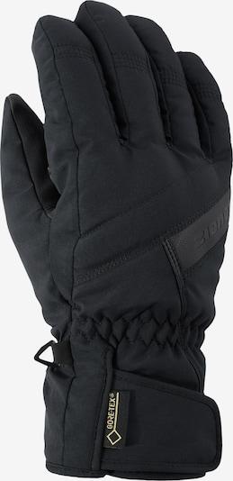 ZIENER Skihandschuhe 'Gapon' in schwarz, Produktansicht