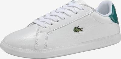 LACOSTE Sneaker 'Graduate 120 1 SFA' in smaragd / weiß, Produktansicht