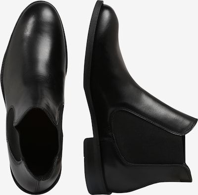 SELECTED HOMME Chelsea Boot in schwarz: Seitenansicht