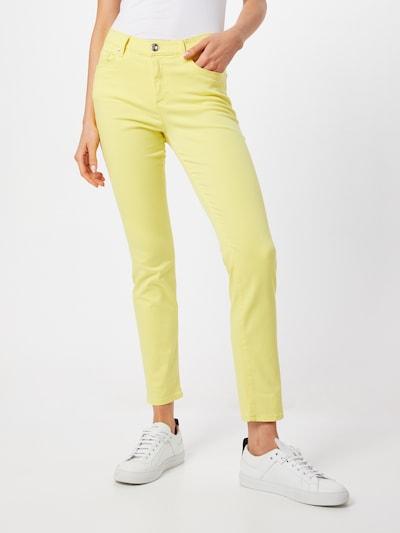 BRAX Jeans 'SHAKIRA' in gelb, Modelansicht