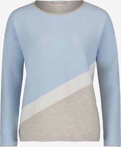 Betty & Co Pullover in blau / silber / weiß, Produktansicht