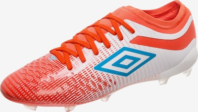 UMBRO Fußballschuh 'Velocita IV' in blau / orangerot / weiß, Produktansicht