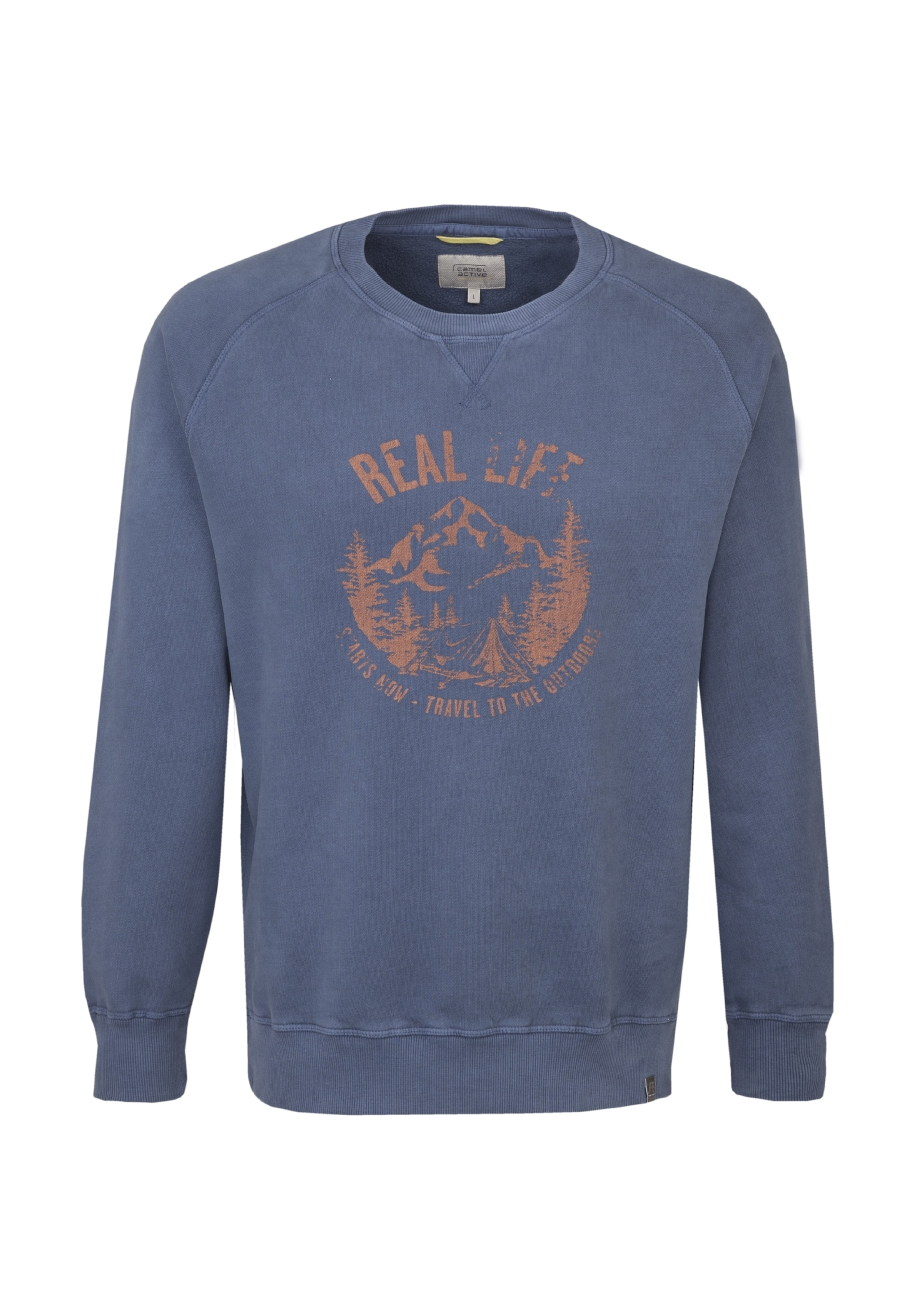 Active Bleu Camel En shirt ' Sweat AL3q54Rj