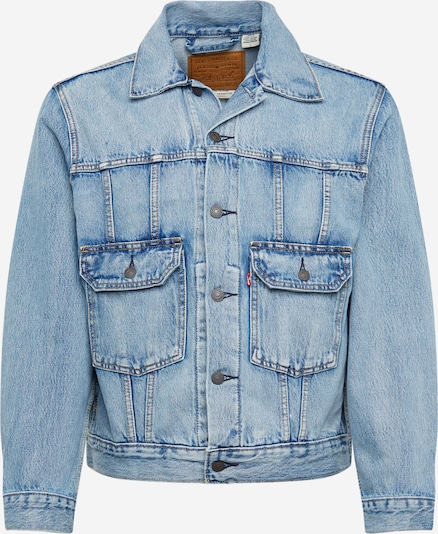 LEVI'S Jacke 'IRONIC ICONIC TRUCKER' in blue denim, Produktansicht