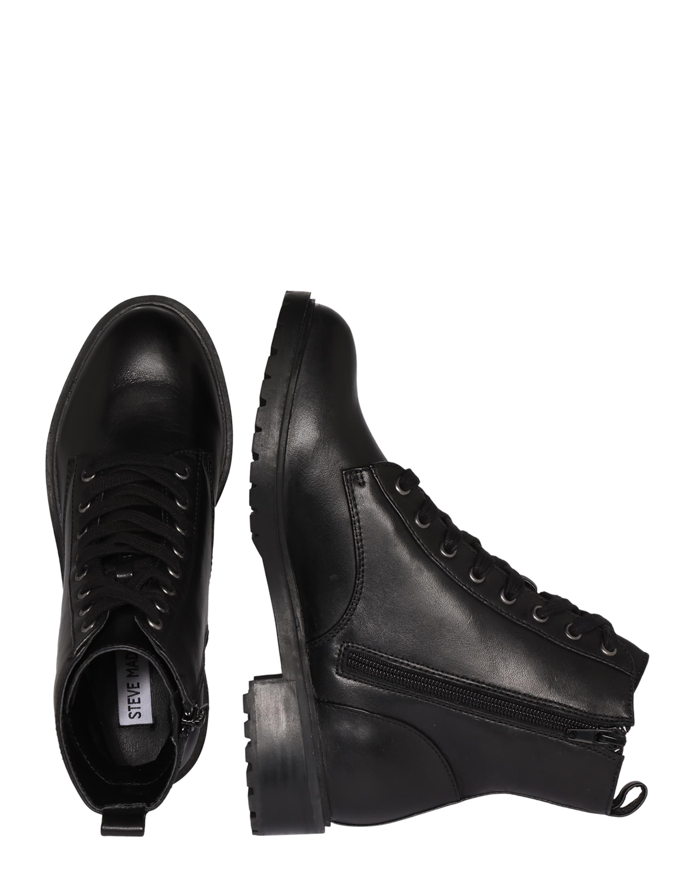 STEVE MADDEN Leder-Boot 'Officer' Billig Verkauf Outlet-Store Verkauf Online-Shop UDkNl