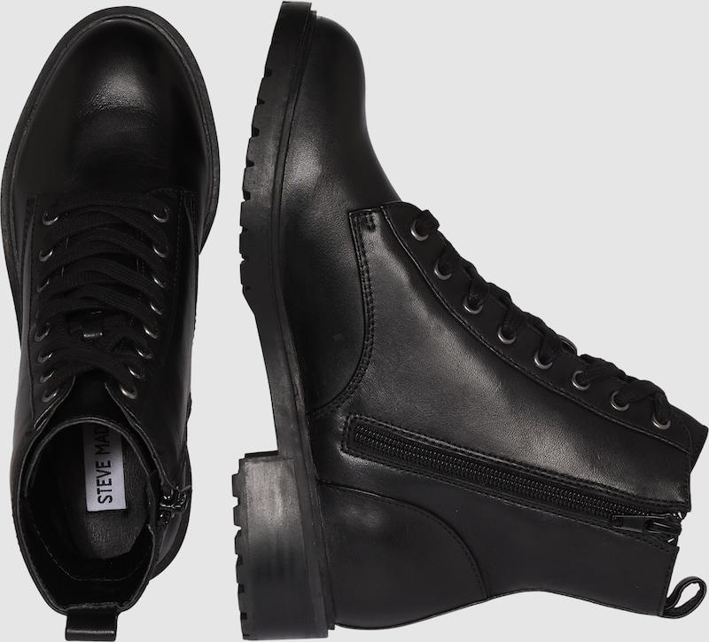STEVE MADDEN Leder-Boot Officer Verschleißfeste billige Schuhe