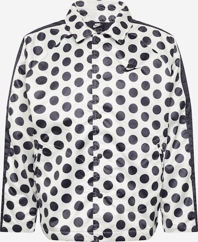 Geacă de primăvară-toamnă 'JDI SYN FILL JKT Q5 AOP' Nike Sportswear pe negru / alb, Vizualizare produs