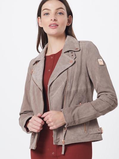 FREAKY NATION Prijelazna jakna u bež / roza: Prednji pogled