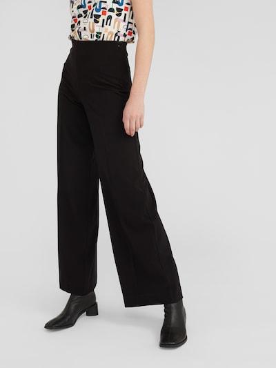EDITED Viikidega püksid 'Polina' must, Modellivaade