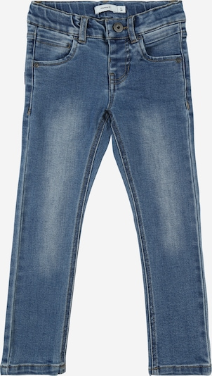 NAME IT Jeans 'MICKEY THEO BATINO' in blue denim, Produktansicht