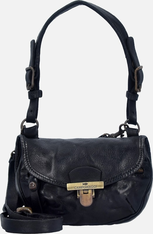 Campomaggi Clivia Mini Bag Schultertasche Leder 19 cm