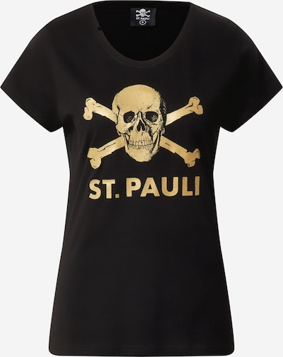 FC St. Pauli Functional shirt in gold yellow / black, Item view