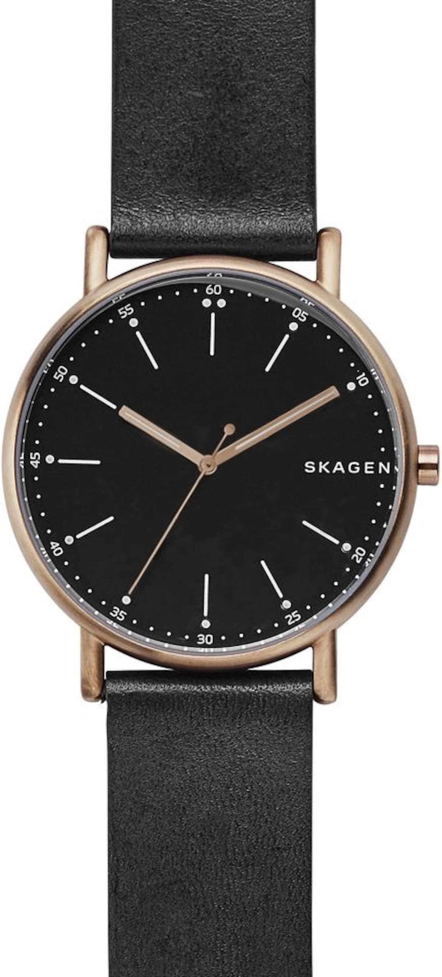 Skagen Schwarz Skagen In Quarzuhr 'signaturSkw6401' 'signaturSkw6401' Quarzuhr wX8nPk0O
