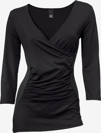 heine Wickelshirt in schwarz, Produktansicht