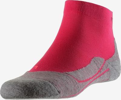 FALKE Športové ponožky 'RU4 Short' - sivá melírovaná / ružová, Produkt