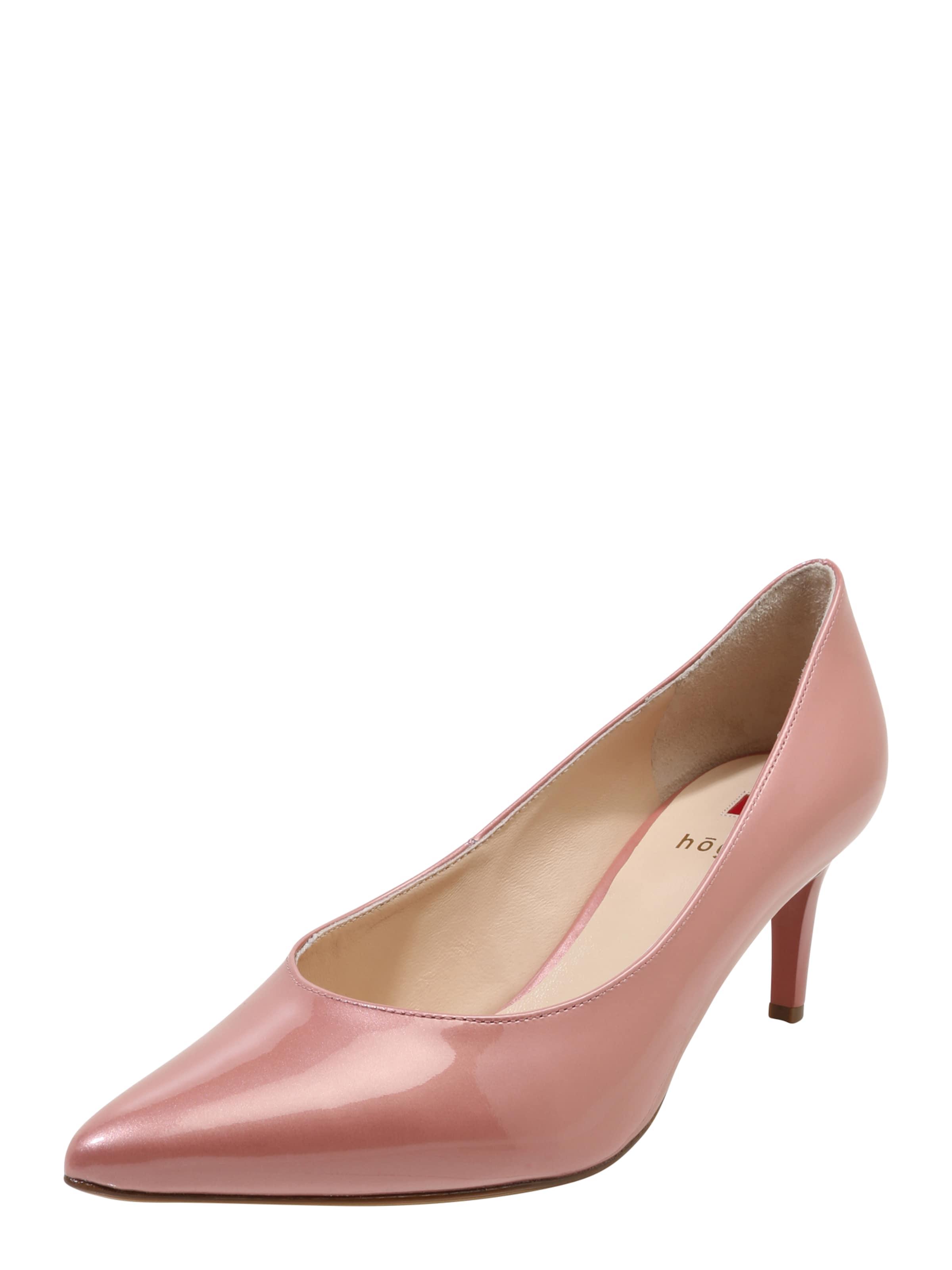 Högl Pumps aus Lackleder Verschleißfeste billige Schuhe
