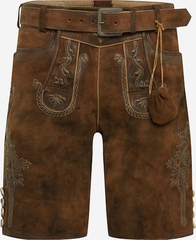 MARJO Shorts in braun, Produktansicht