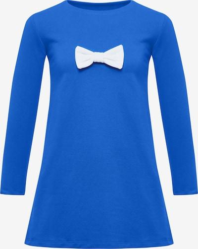 MYMO Kleid in royalblau / weiß, Produktansicht